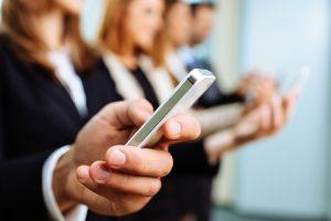Professionals on Smartphones